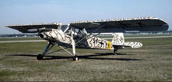 Разведчик Fiеseler Fi.156С-2 Storch