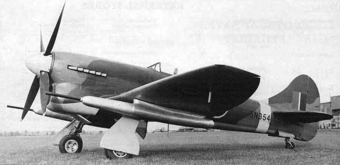 Истребитель Hawker Tempest Mk-V