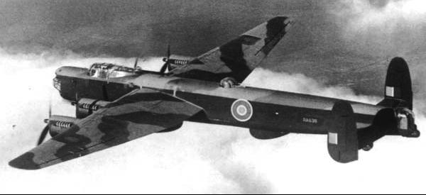 Бомбардировщик Avro Lincoln Mk-I