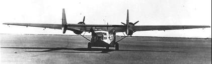 Транспортный самолет Gotha Go-244
