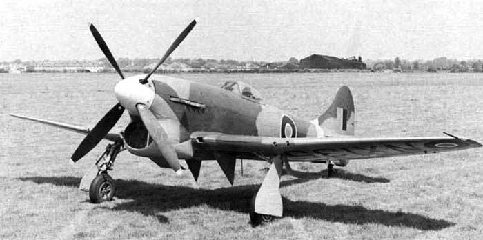 Истребитель Hawker Tempest Mk-VI