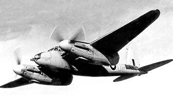 Истребитель Mosquito F.Mk-II