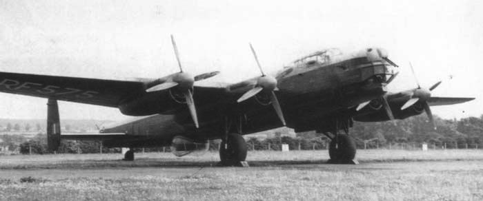Бомбардировщик Avro Lincoln Mk-II