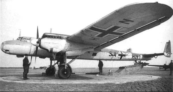 Бомбардировщик Dornier 17Е-1