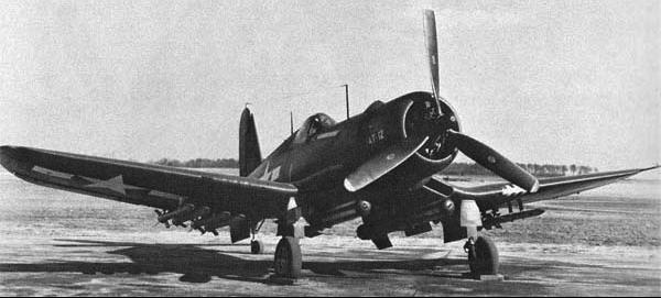 Палубный истребитель Chance Vought Corsair - F4U-1D