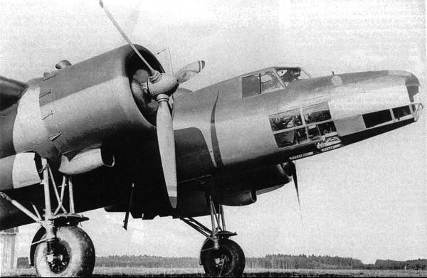 Бомбардировщик Dornier 17К