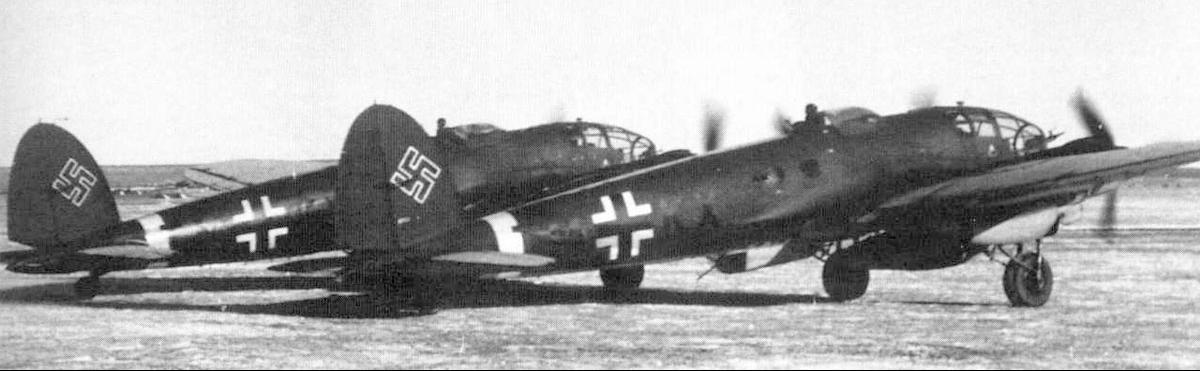 Тяжелый буксировщик планеров Heinkel He-111Z (Zwilling)