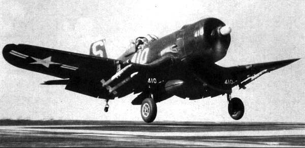Палубный истребитель Chance Vought Corsair - F4U-4