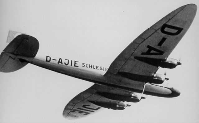 Транспортный самолет Heinkel He-116
