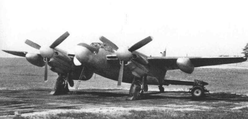Ночной истребитель Mosquito NF Mk-XV