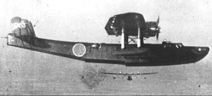 Летающая лодка Kawanishi (Тип 97) H-6K4