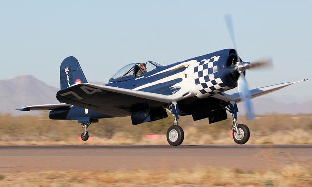 Палубный истребитель Chance Vought Corsair - F-2G-2