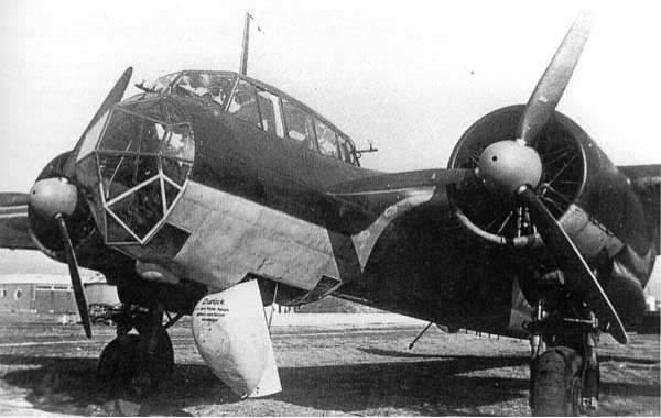 Бомбардировщик Dornier 17Z-2