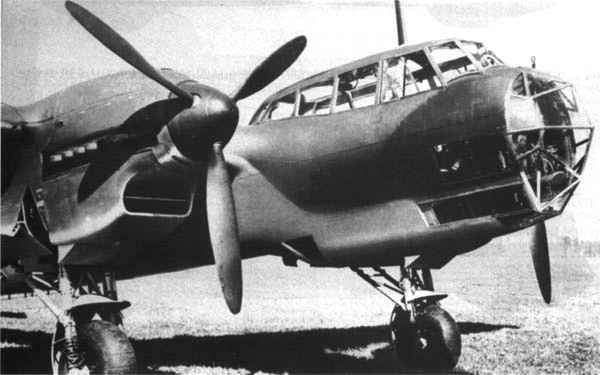 Бомбардировщик Dornier 215