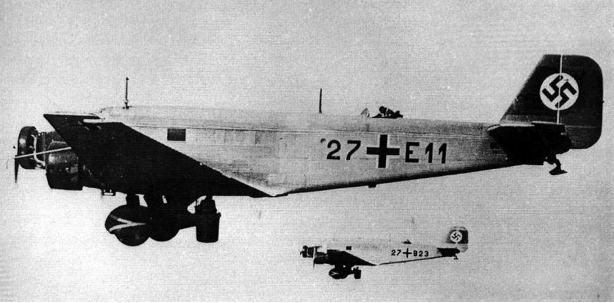 Транспортный самолет Junkers Ju-52/3mg