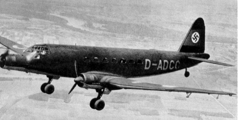 Транспортный самолет Junkers Ju-252