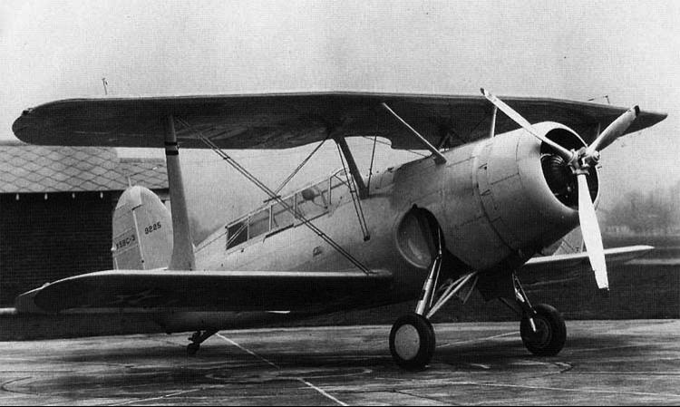 Палубный бомбардировщик Curtiss Helldiver - XSBC-3