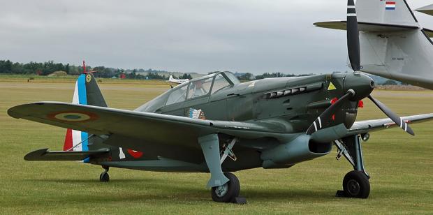 Истребитель Morane-Saulnier MS.406