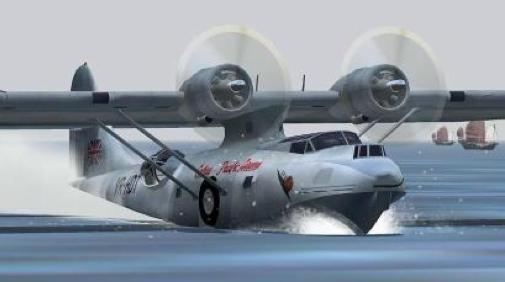 Летающая лодка Consolidated PBY Catalina