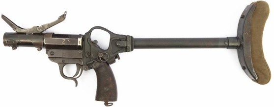 Гранатомет Leuchtpistole с плечевым упором