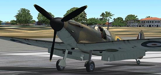 Истребитель Supermarine Spitfire Mk-I