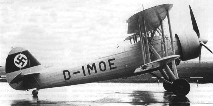 Бомбардировщик Heinkel He.50b