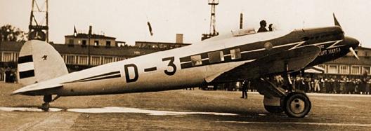 Бомбардировщик Heinkel 70-Е Blitz