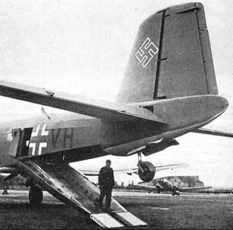 Транспортный самолет Junkers Ju-352