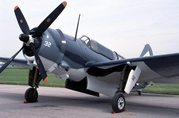 Палубный бомбардировщик Curtiss Helldiver SB-2C-1