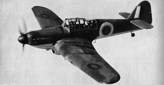 Учебно-тренировочный самолет Miles Master - M.9 Mk-I