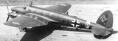 Бомбардировщик Heinkel - He 111-G5