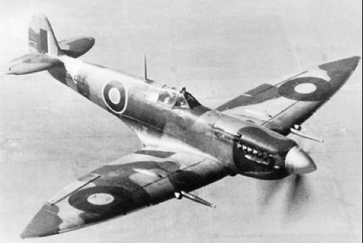 Истребитель Supermarine Spitfire Mk-VII
