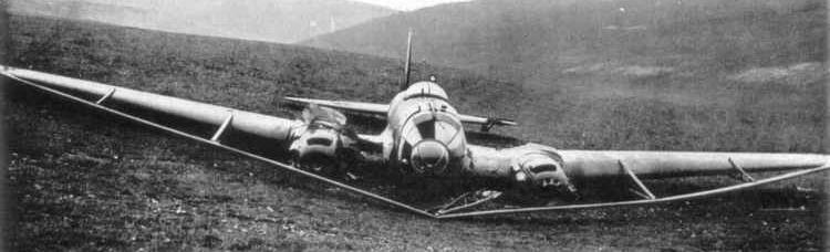 Бомбардировщик Heinkel - He 111-H8