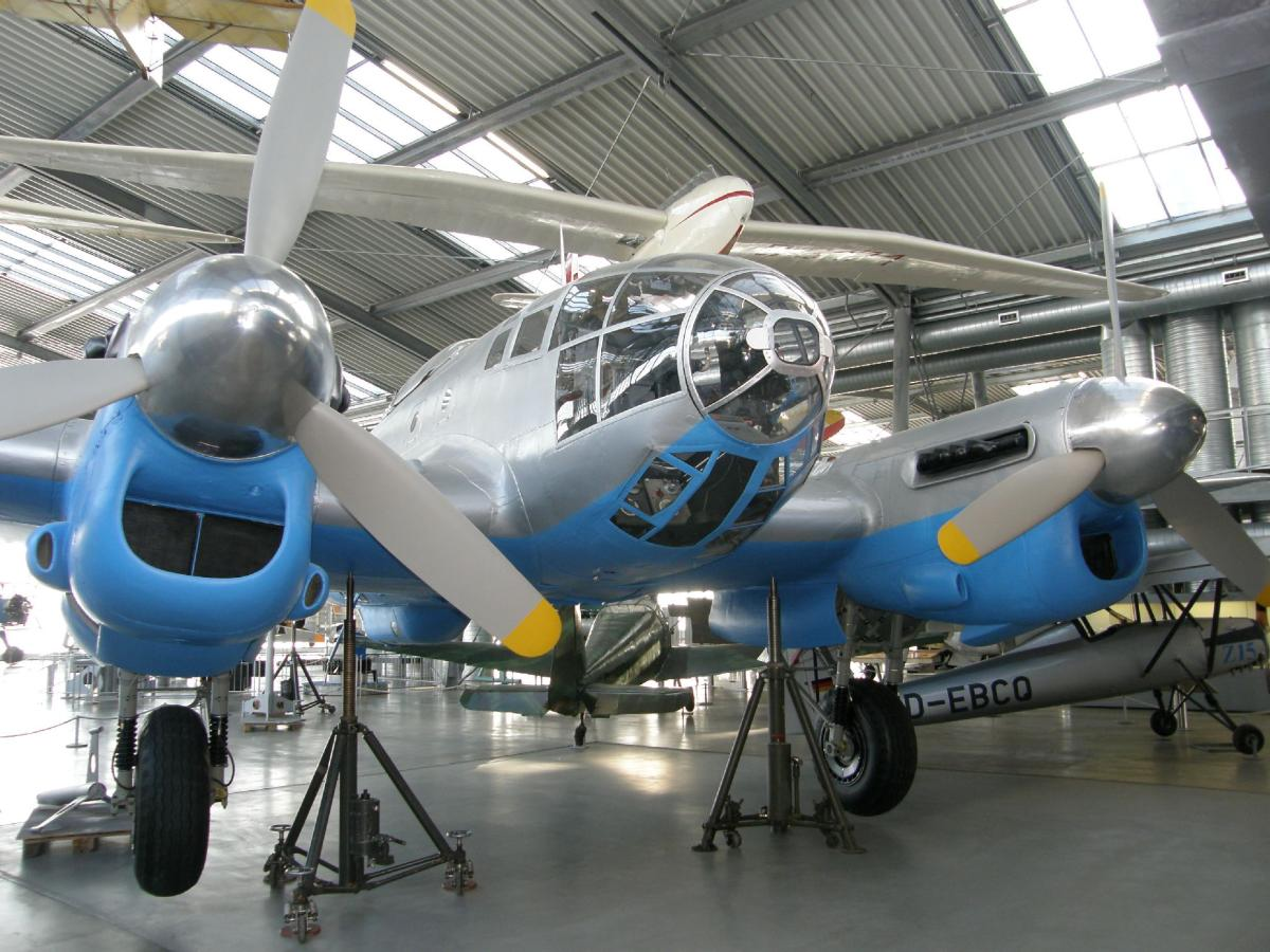 Бомбардировщик Heinkel – He 111-H8