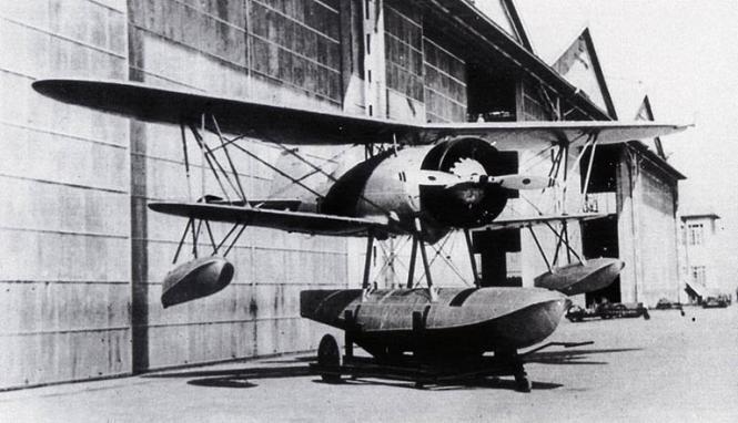 Гидросамолет Nakajima E-8N (Тип 95)