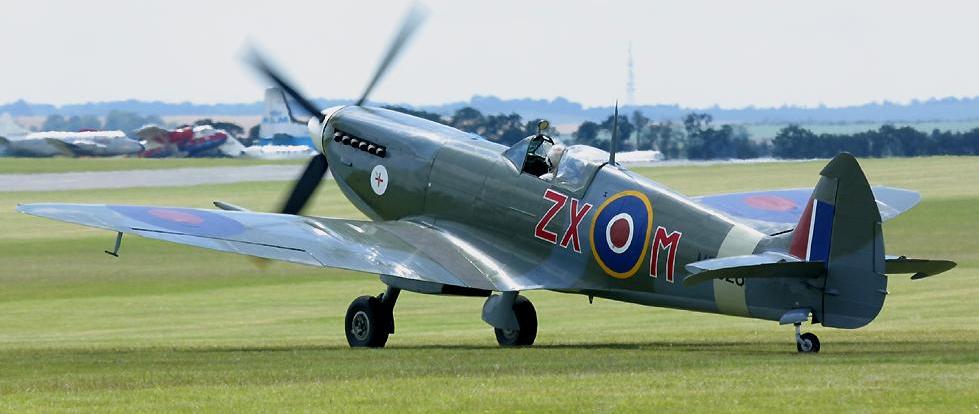 Истребитель Supermarine Spitfire Mk-VIII
