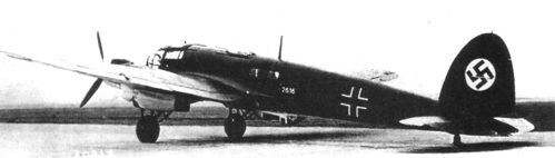 Бомбардировщик Heinkel – He 111-Р2