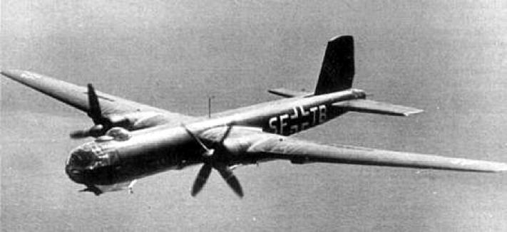 Бомбардировщик Heinkel He-177 Greif