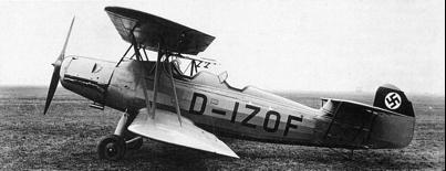 Учебно-тренировочный самолет Arado Ar -66