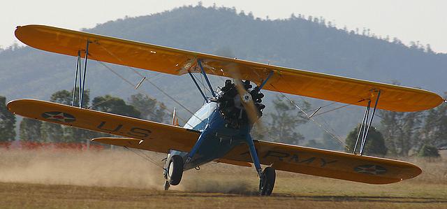 Учебно-тренировочный самолет Boeing-Stearman Kaydet - PT-18
