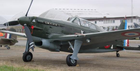 Истребитель Morane-Saulnier MS.410