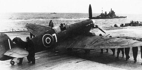 Палубный истребитель Supermarine Seafire Seafire Mk-IB
