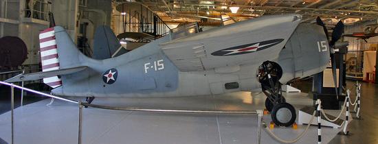 Палубный истребитель Grumman Wildcat F-4F-3А