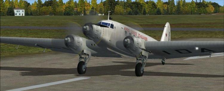Транспортный самолет Fiat G-12