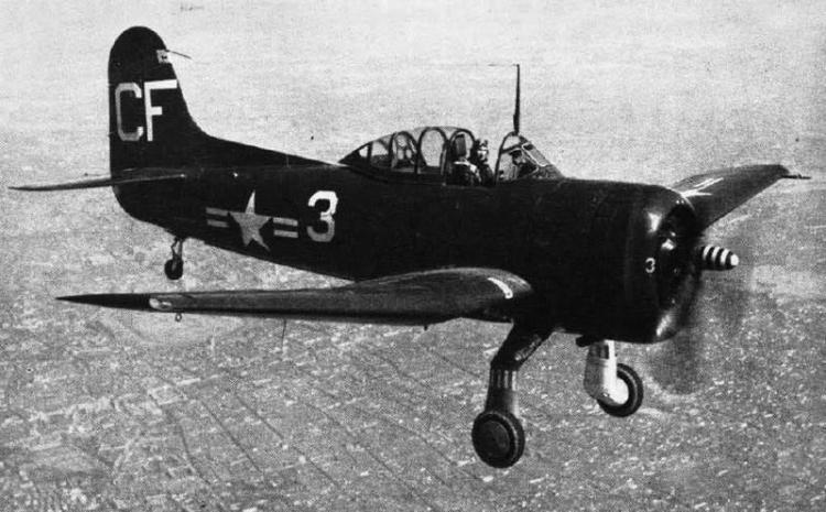 Морской разведчик Curtiss SC Seahawk - SC-1