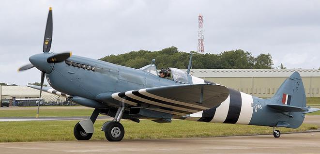 Истребитель Supermarine Spitfire Mk-XVI