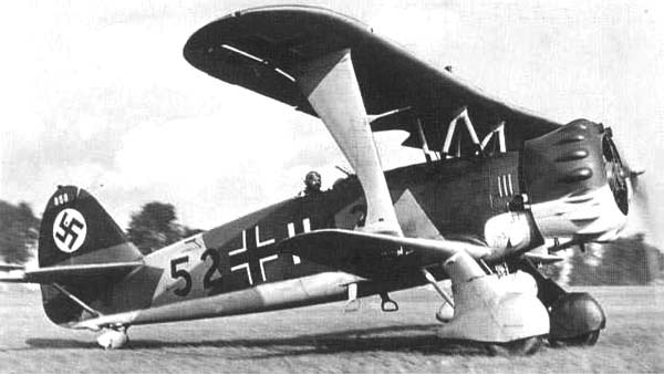 Бомбардировщик Henschel Hs-123