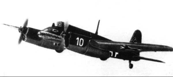 Штурмовик Henschel Hs-129 -А