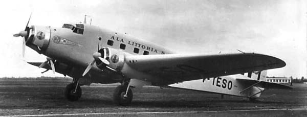 Транспортный самолет Savoia Marchetti SM-75 Marsupiale