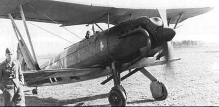 Истребитель Arado Аr. 68е